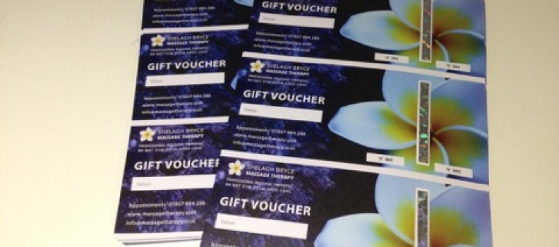 A Gift Voucher for someone close to you?