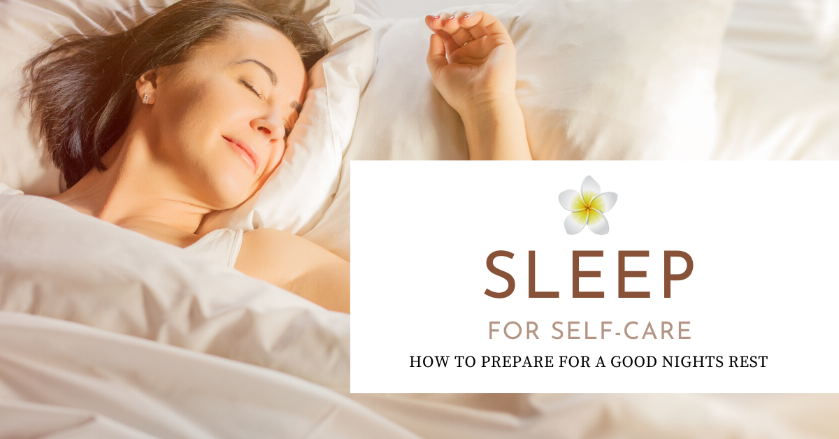 sleep for self-care